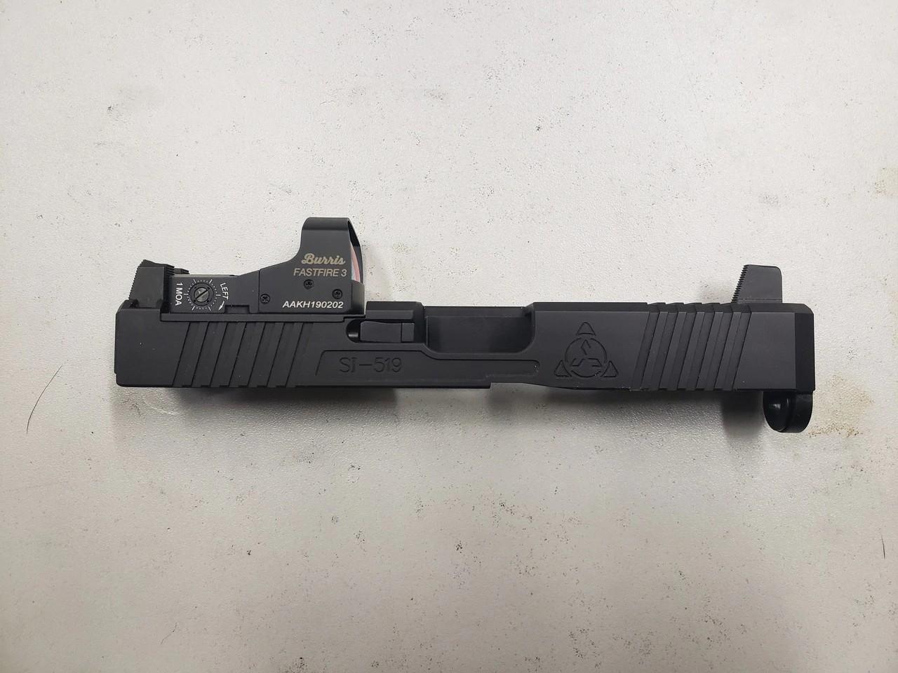suarez international c.r.o.s.s. glock 19 slide cut rmr optic slide cut
