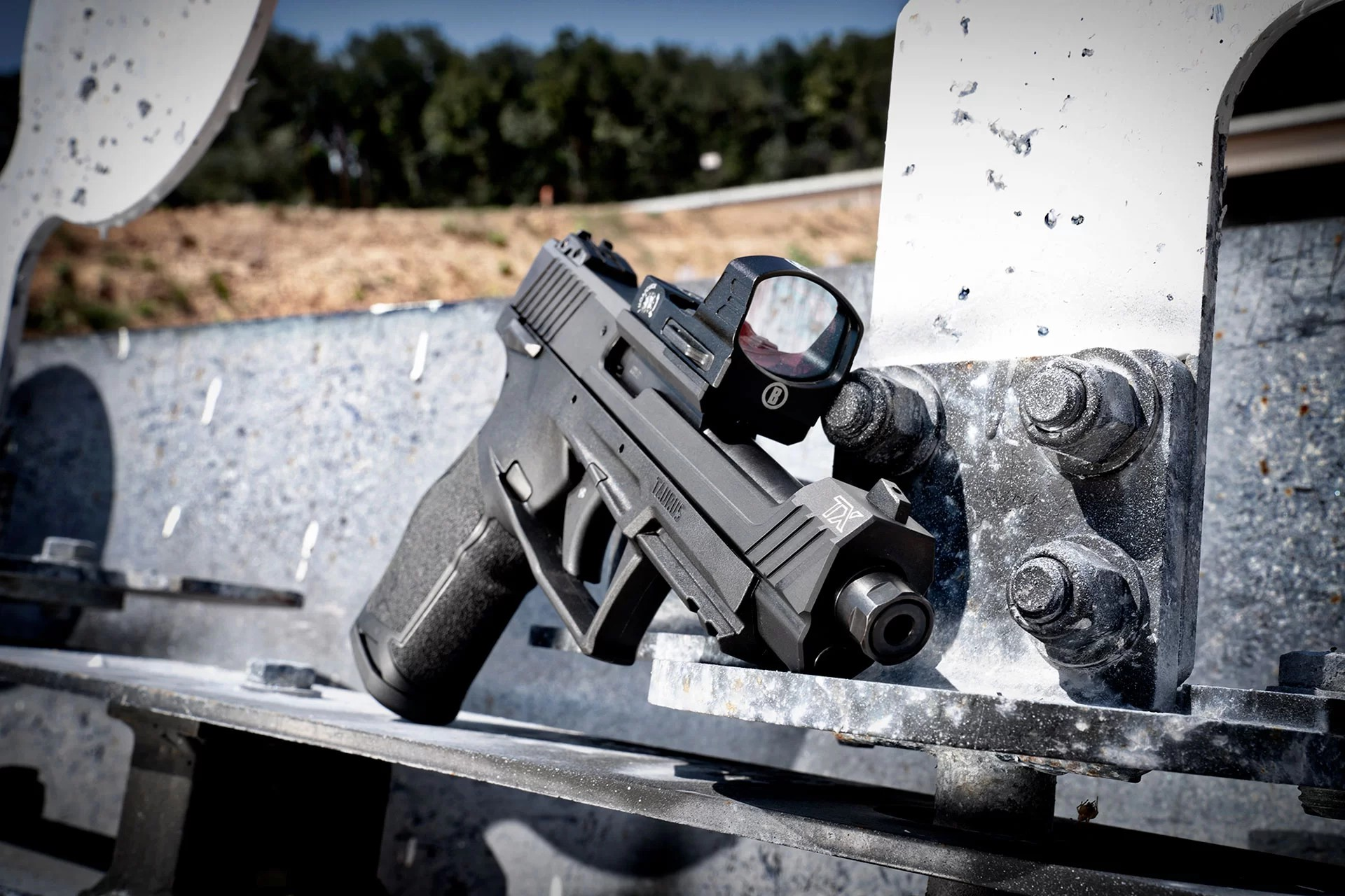 TAURUS USA DEBUTS THE TAURUS TX 22 COMPETITION MODEL