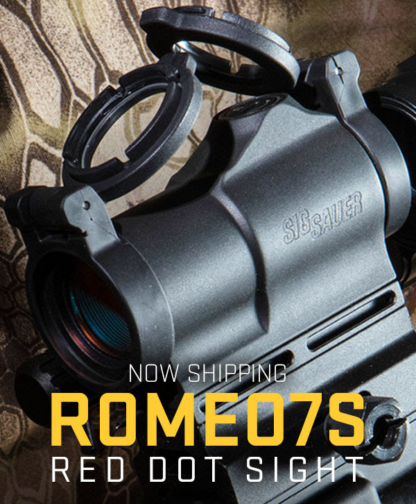 SIG SAUER TAKES THE ROMEO7S OPITIC LIVE!