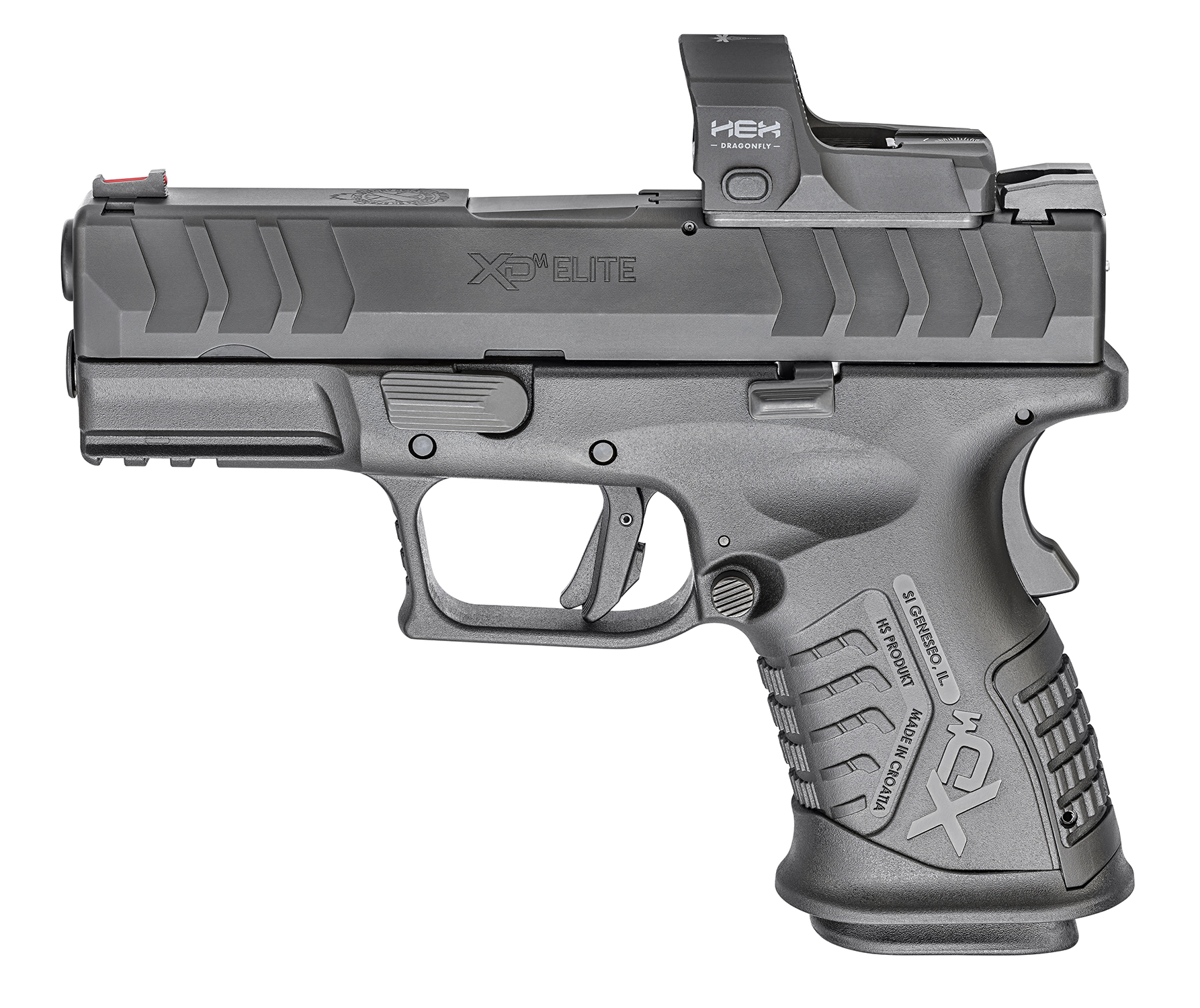 springfield armory xdm elite 3.8 compact pistol optics cut slide