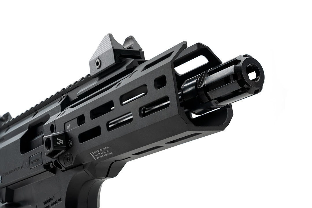 strike industries cz scorpion evo 6 inch handguard forend pcc pistol caliber carbine 9mm