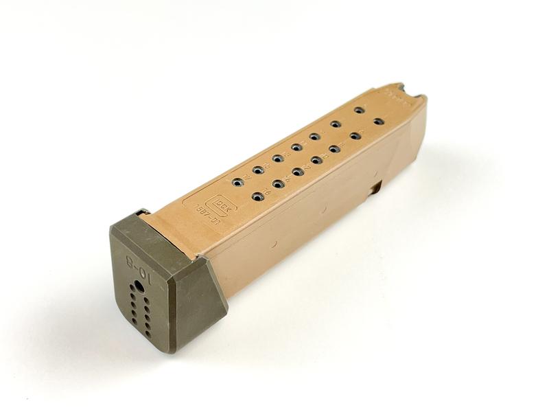 10-8 performance glock 19x magazine base pads glock 19 plus 2 extension 9mm