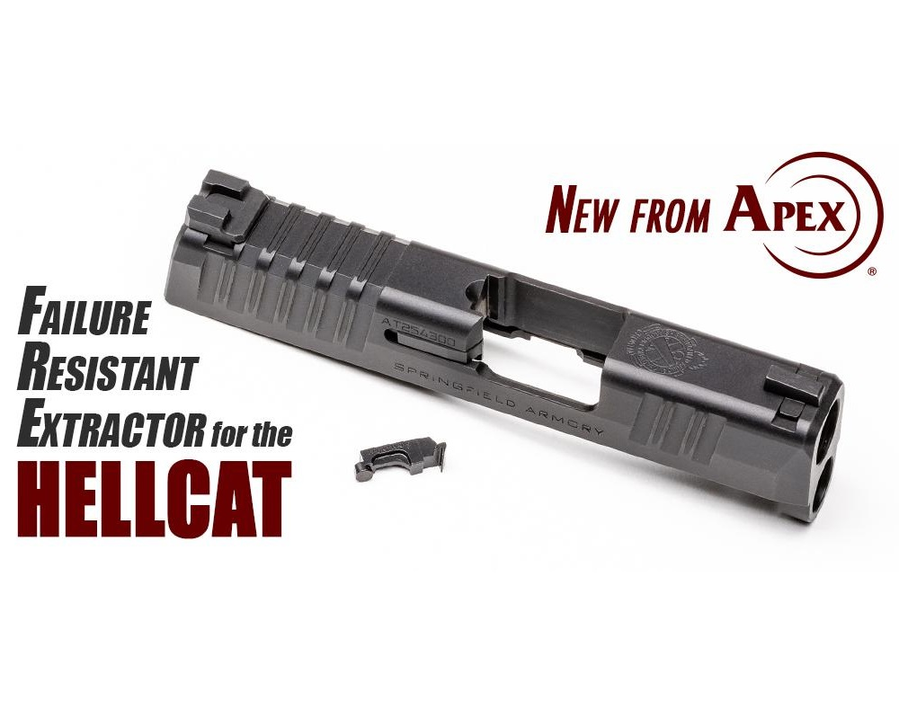 APEX TACTICAL EXPANDS SUPPORT FOR HELLCAT WITH FAILURE RESISTANT EXTRACTOR