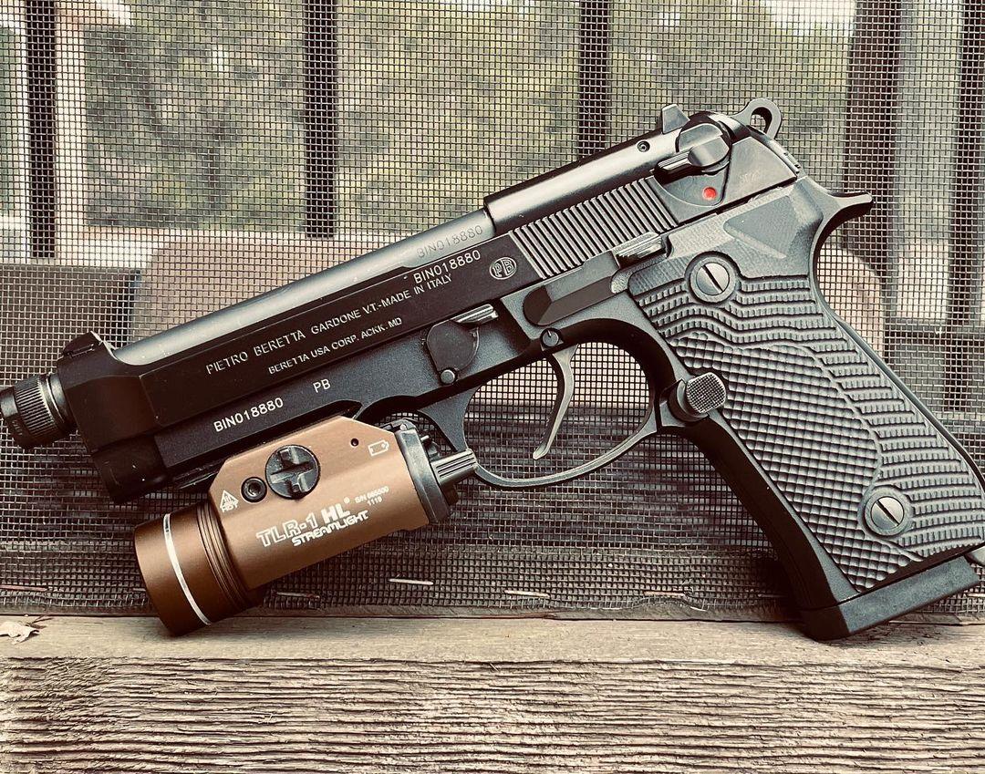 volker precision beretta 92 beretta 96 flat face trigger custom trigger shoe