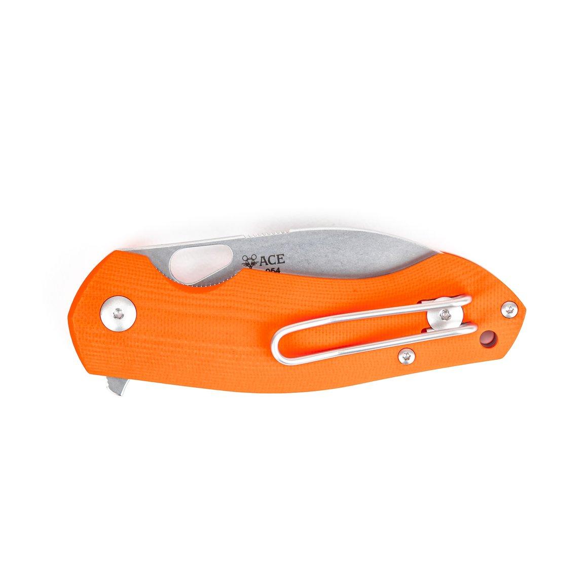 giantmouse knives ace biblio orange g10 knives knife pocket knife