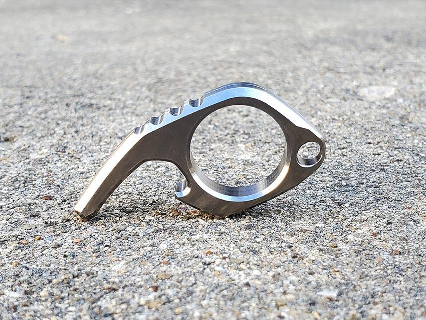 milspin titanium minimalist bottle opener edc everyday carry
