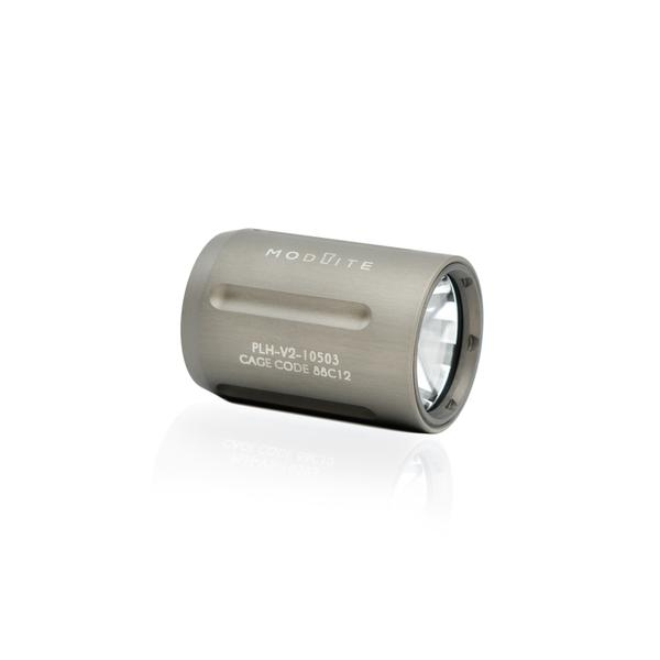 reptilia corp modlite clear anodized 18350 light tactical lights