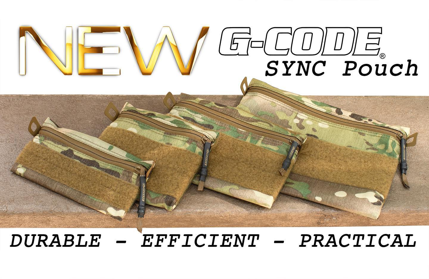 G-CODE HOLSTERS LAUNCHES NEW SYNC POUCH SERIES