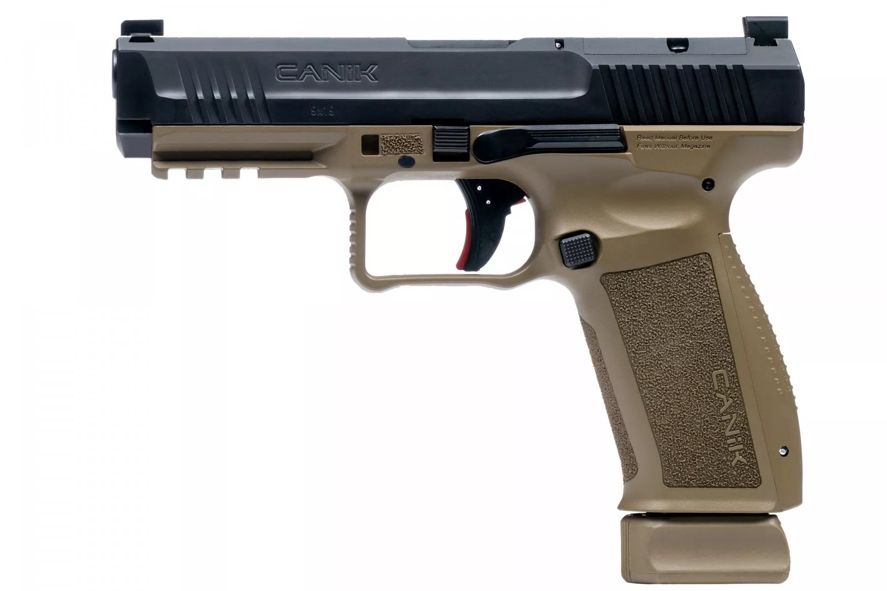 canik usa mete series pistol 9mm competition handgun 9mm