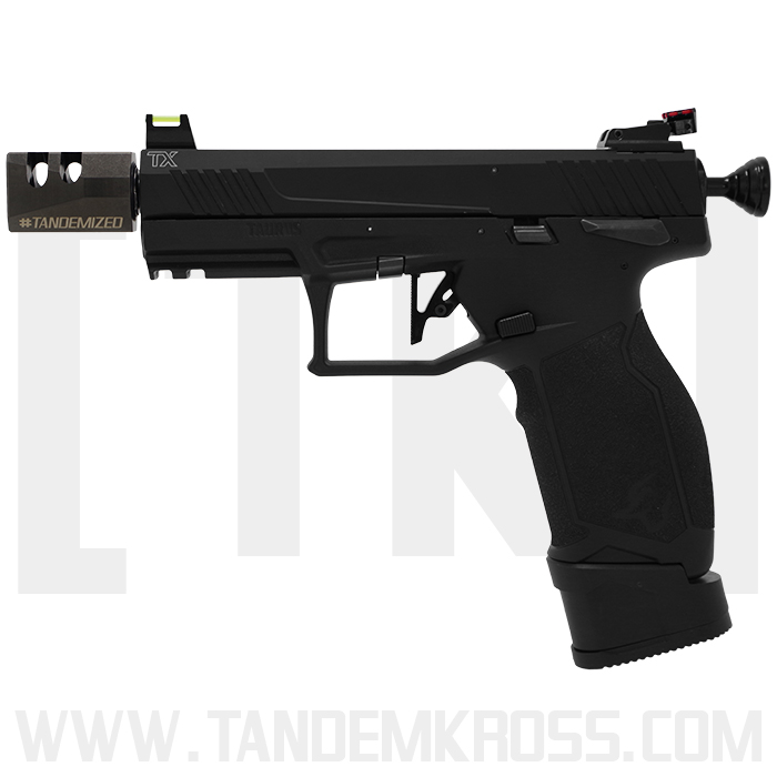 tandemkross game changer pro squared compensator 22lr rimfire plinker