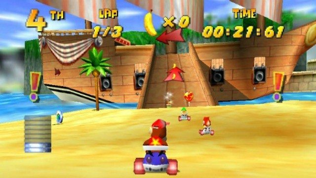 Rumor Diddy Kong Racing 2 In The Works For Wii U Attack
