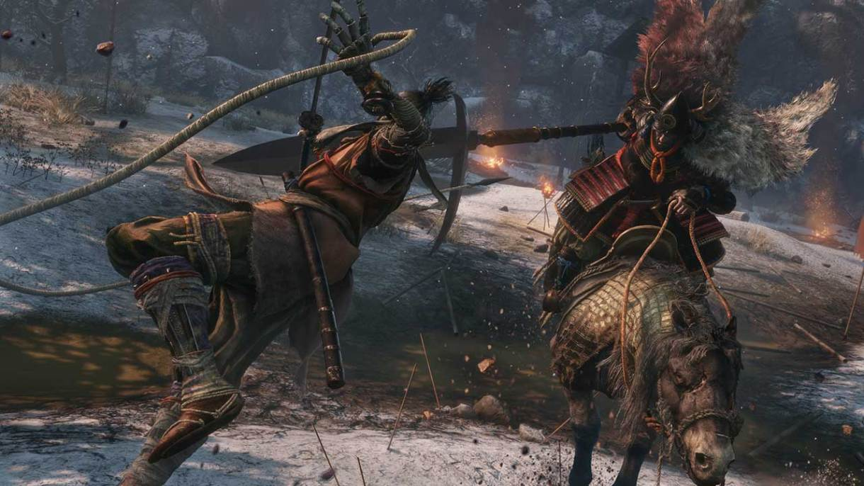 نتيجة بحث الصور عن ‪Sekiro: Shadows Die Twice Grappling Hook Attack‬‏