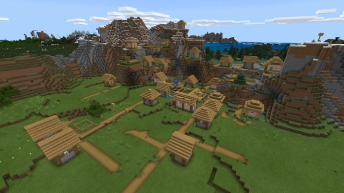 Minecraft-Huge-Village