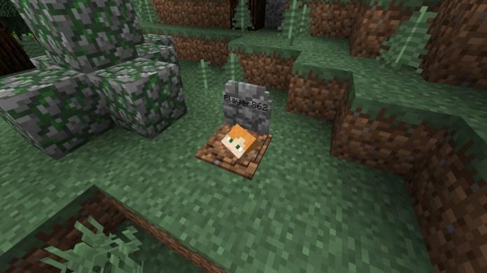 Gravestone-mod-Minecraft