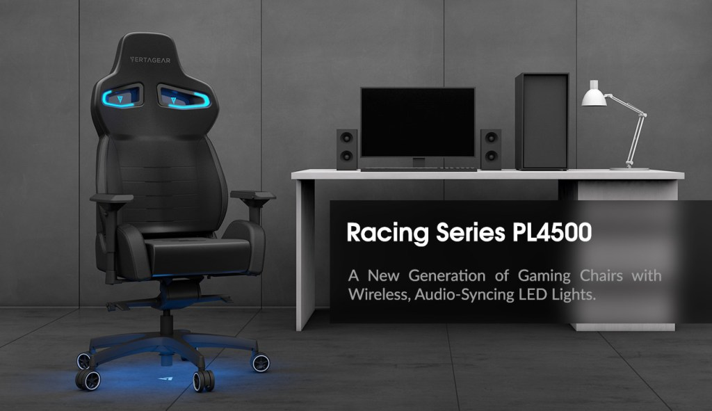Vertagear LED Gaming Chair