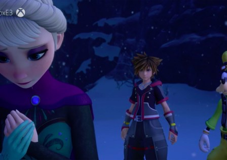 Kingdom Hearts 3 Frozen