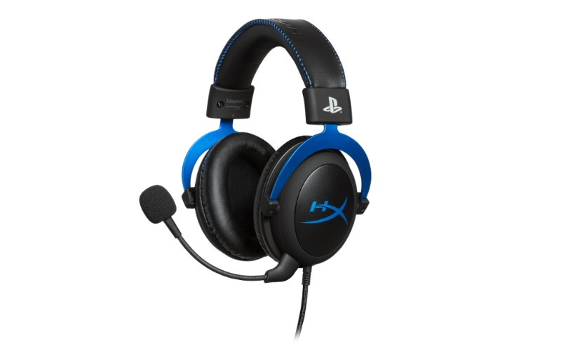 Cloud headset for PS4