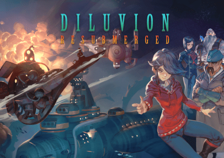 Diluvion Resubmerged Key Art with title (1)