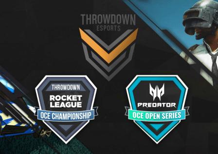 Throwdown Esports Hosts Bumper Weekend of OCE Esports finals