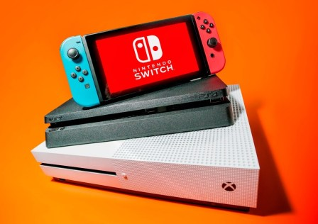 Gaming Consoles – Nintendo Switch, Xbox One S, PS4