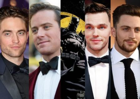 Robert Pattinson NIcholas Hoult Batman