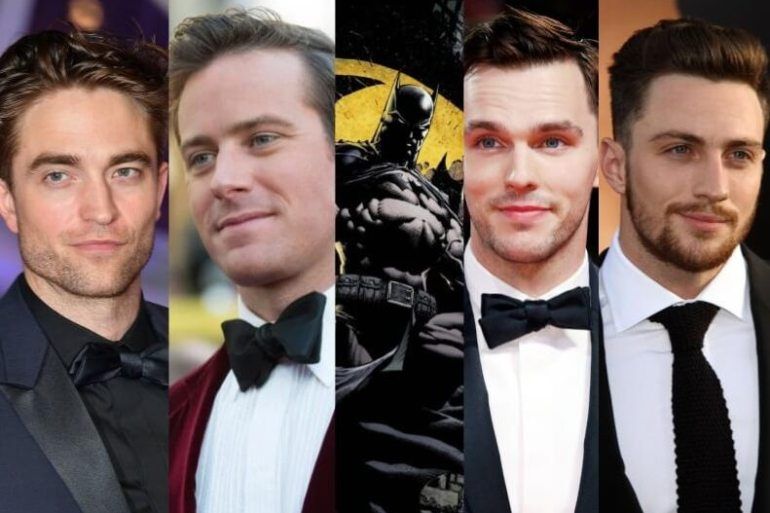Robert Pattinson NIcholas Hoult Batman