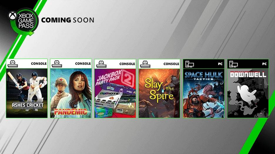 August Xbox Game Pass