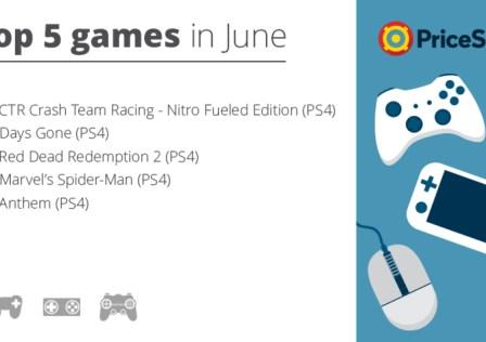 Top 5 Games in June