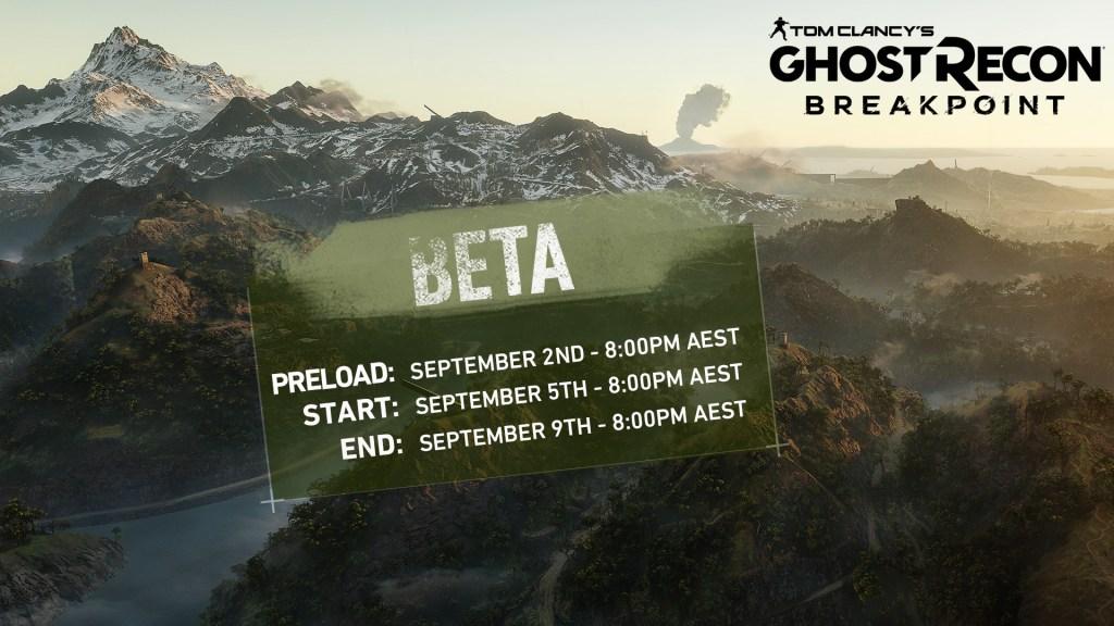 Ghost Recon Beta