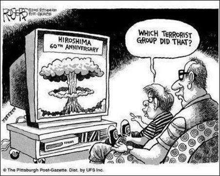 terrorists hiroshima
