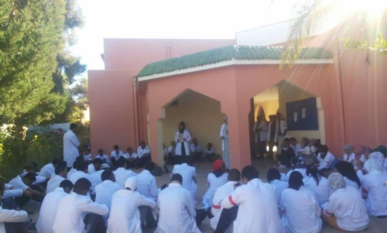 صورة بيان اطاك المغرب: كل التضامن مع الأساتذة المتدربين بالمراكز الجهوية لمهن التربية والتكوين