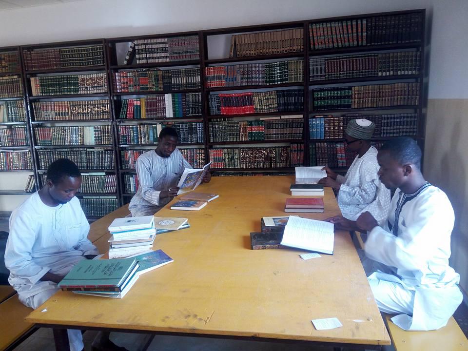 افتتاح مكتبة في المقر الجديد لجامعة التضامن الفرنسية العربية