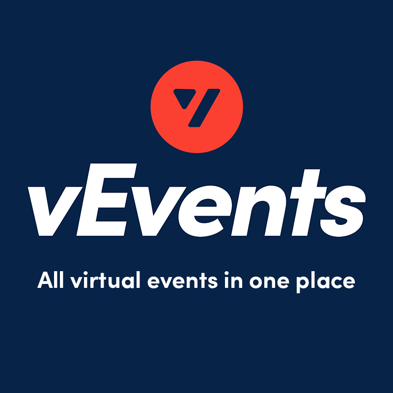 vevents banner online events aggregator