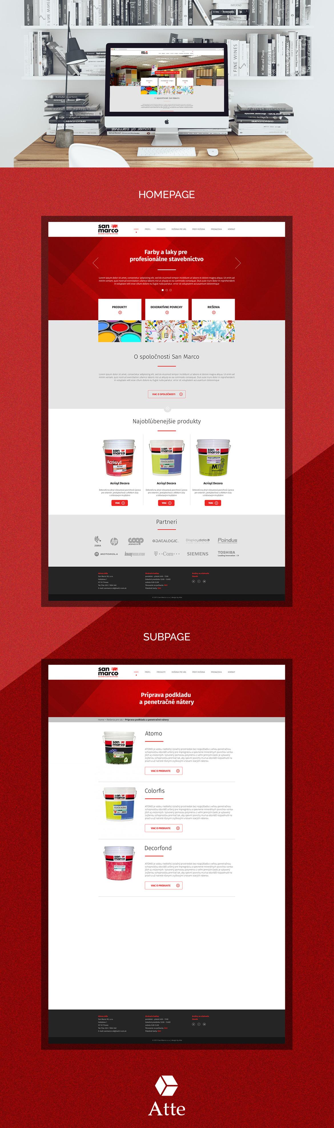 San Marco webdesign