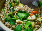 Farro with Roasted Veggies