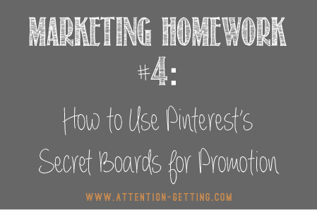 Pinterest Tips Secret Boards