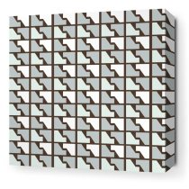 Houndstooth art print at Inhabit