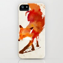 Vulpes vulpes iPhone Case by Robert Farkas on Society6