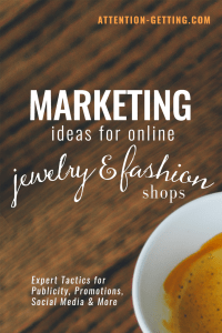 marketing ideas for jewelry and fashion shops