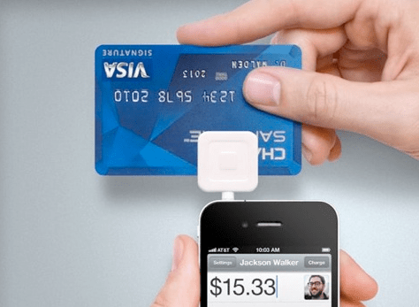 Using square reader for credit cards