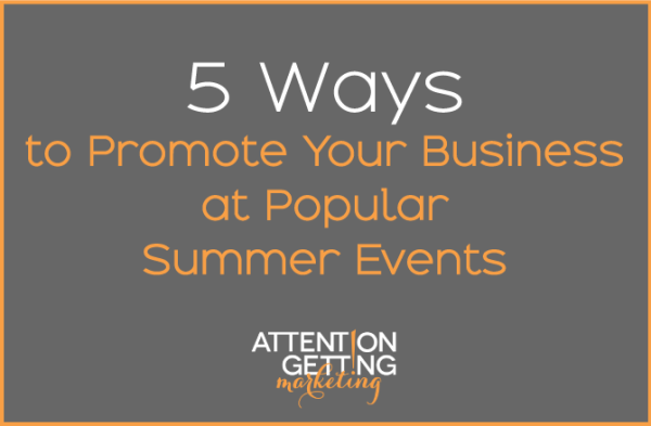 5 ways to promote your small business at events
