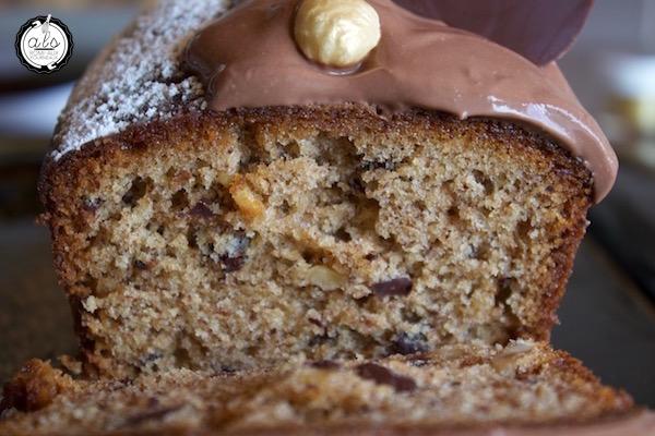 Cake chocolat noisette de Nicolas Bernardé