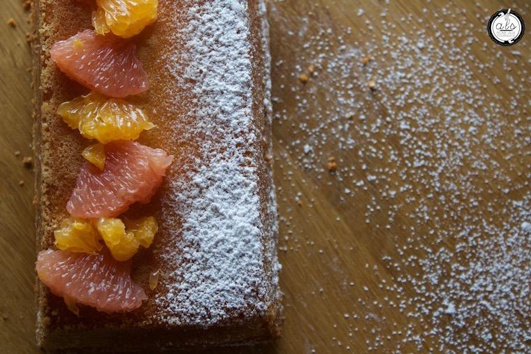 Cake aux agrumes extra moelleux de Claire Heitzler