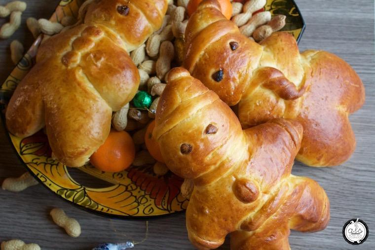 Grittibänz - Bonhommes en pâte de la St-Nicolas