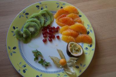 Pavlova aux fruits d'hiver