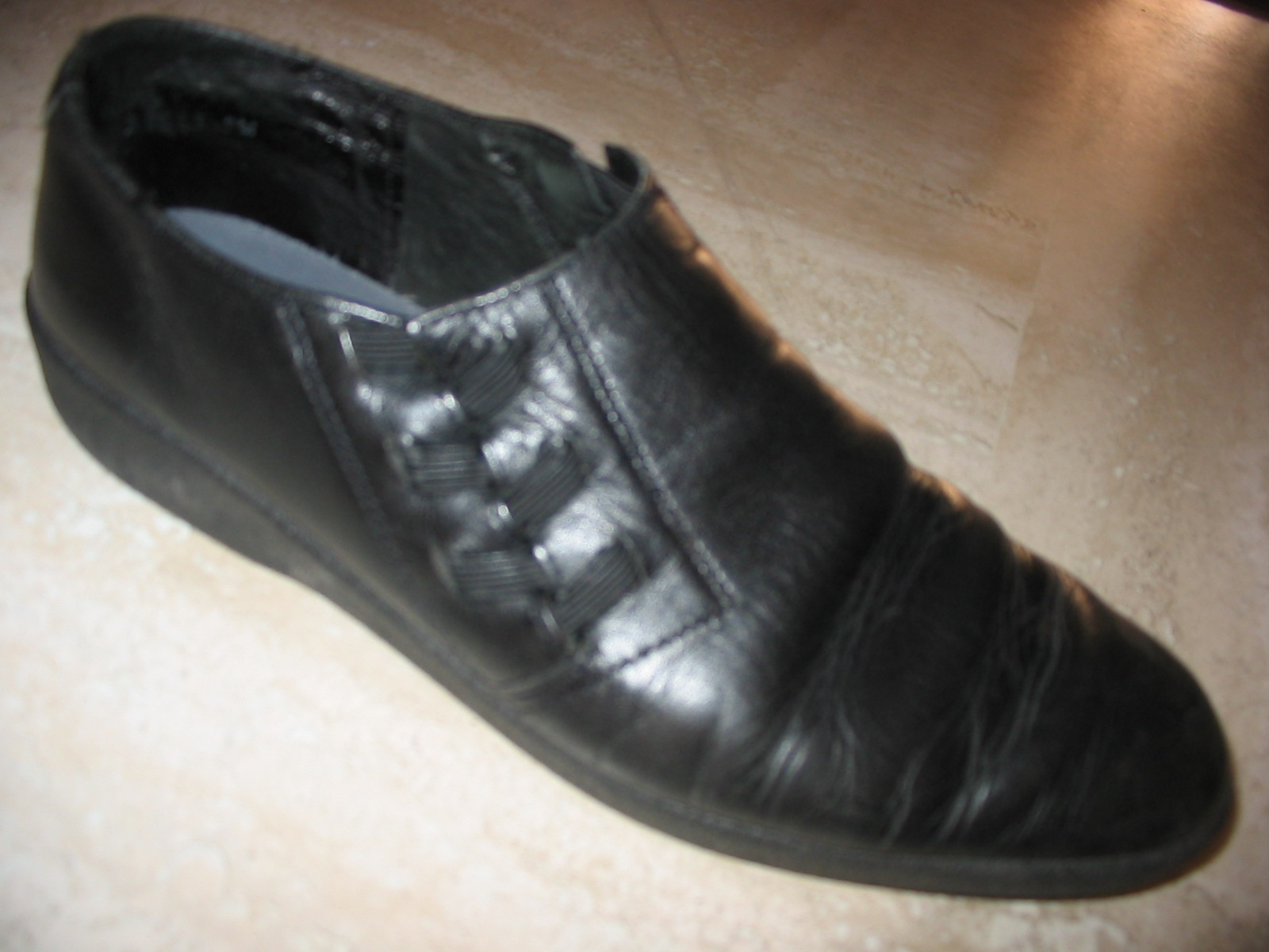 my black shoe