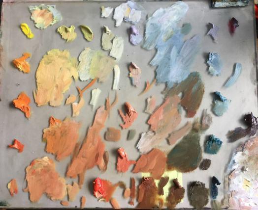 Judith Reeve using Denman Ross Palette