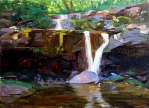 Upper Plattekill Falls
