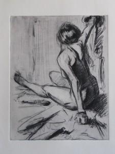 Nude Arm Raised
