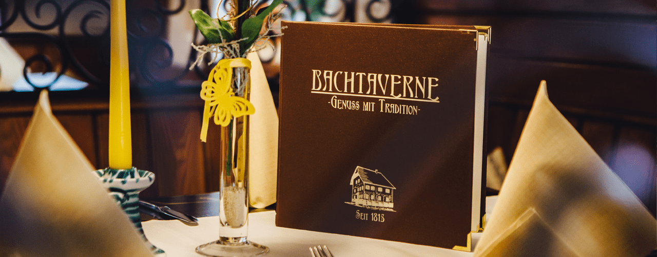 The Menu of Pension-Restaurant Bachtaverne am Attersee